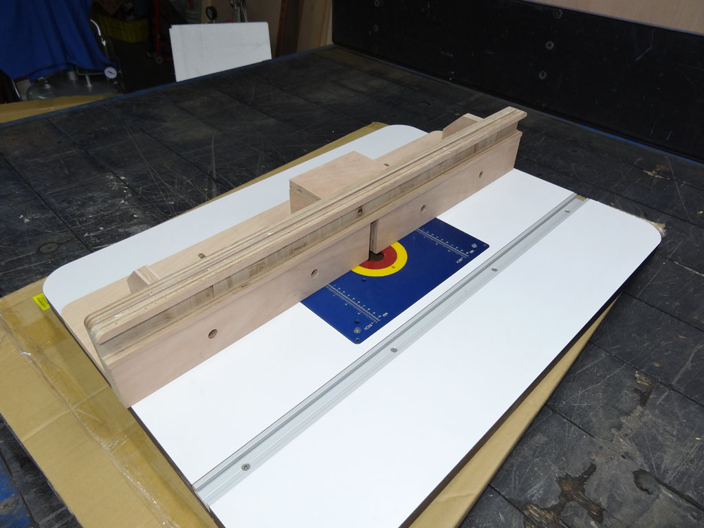 Diy Router Table Building The Fence