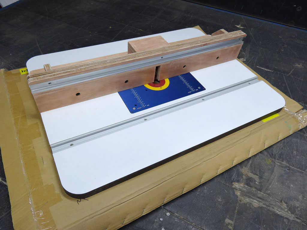 Router Table Building The Fence Diy